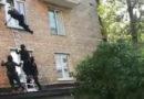 Российский спецназ сконфузился во время штурма окна (видео)