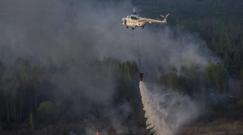 У Чорнобилі через пожежу рівень радіації суттєво перевищив норму